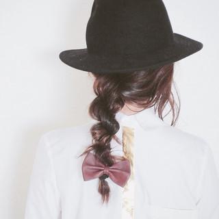 ヘアアレンジ ショート 波ウェーブ セミロング ヘアスタイルや髪型の写真・画像