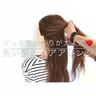 上品 オフィス デート エレガント ヘアスタイルや髪型の写真・画像