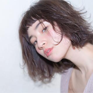 ゆるふわ おフェロ フェミニン ボブ ヘアスタイルや髪型の写真・画像 ヘアスタイルや髪型の写真・画像