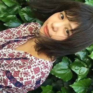 大人かわいい 色気 外国人風 リラックス ヘアスタイルや髪型の写真・画像