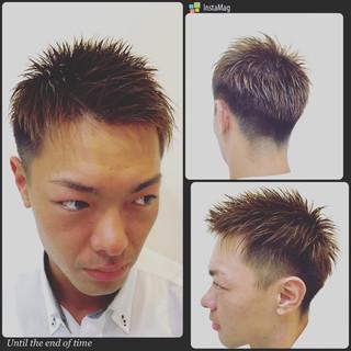 ボーイッシュ メンズ かっこいい 刈り上げ ヘアスタイルや髪型の写真・画像