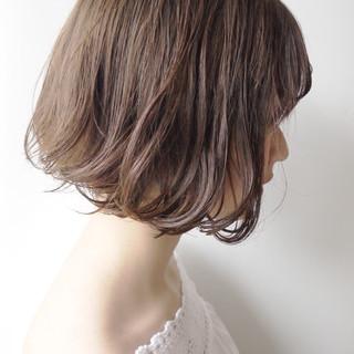 デート モテボブ ボブ 外ハネボブ ヘアスタイルや髪型の写真・画像