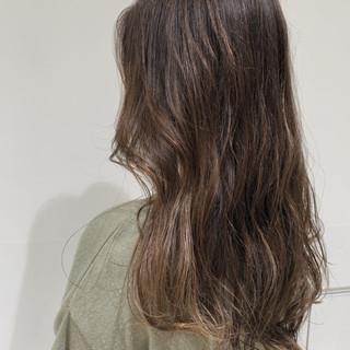 ダメージレス ナチュラル ハイライト ロング ヘアスタイルや髪型の写真・画像