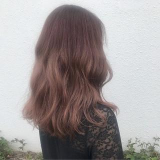 愛され セミロング 大人かわいい フェミニン ヘアスタイルや髪型の写真・画像