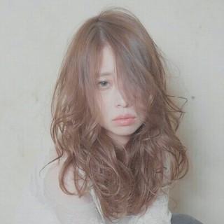 フェミニン リラックス ガーリー 大人かわいい ヘアスタイルや髪型の写真・画像