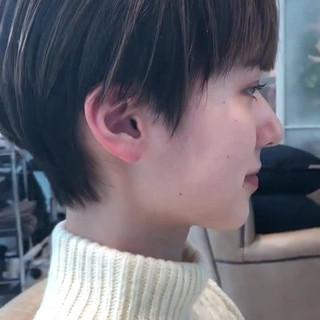 ショートボブ ミニボブ ショートヘア ショート ヘアスタイルや髪型の写真・画像