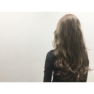 外ハネ 外国人風 ハイライト ブラウン ヘアスタイルや髪型の写真・画像