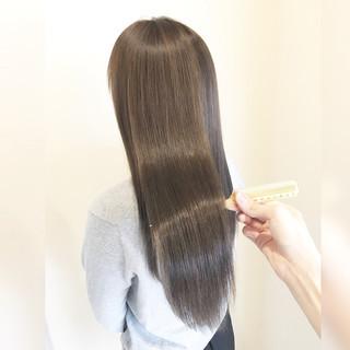 ナチュラル 外国人風カラー モテ髪 ロング ヘアスタイルや髪型の写真・画像