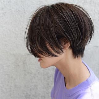 ショート ストリート ハイライト 外国人風 ヘアスタイルや髪型の写真・画像