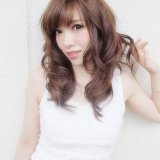 ロング ガーリー モテ髪 ゆるふわ ヘアスタイルや髪型の写真・画像 ヘアスタイルや髪型の写真・画像