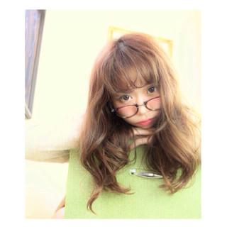 秋 ガーリー ロング 大人女子 ヘアスタイルや髪型の写真・画像