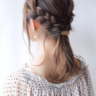 コンサバ 涼しげ ヘアアレンジ 結婚式 ヘアスタイルや髪型の写真・画像