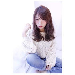 大人女子 イルミナカラー 色気 大人かわいい ヘアスタイルや髪型の写真・画像