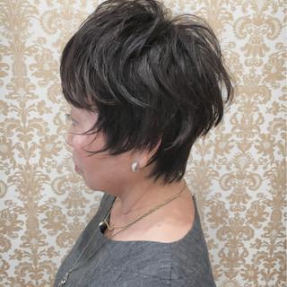 ナチュラル エアリー こなれ感 ショート ヘアスタイルや髪型の写真・画像