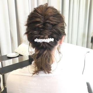 ミディアム ハイライト ボブ ヘアアレンジ ヘアスタイルや髪型の写真・画像