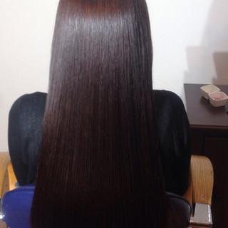 ロング フェミニン 外国人風 モード ヘアスタイルや髪型の写真・画像