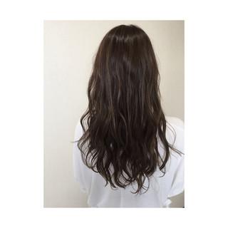 ハイライト フェミニン ガーリー ロング ヘアスタイルや髪型の写真・画像