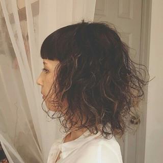 大人かわいい ミディアム 冬 秋 ヘアスタイルや髪型の写真・画像
