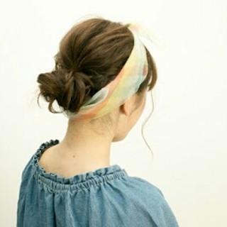 ショート ストリート ヘアアレンジ ミディアム ヘアスタイルや髪型の写真・画像