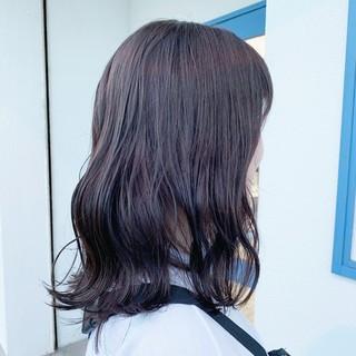 ダブルカラー 切りっぱなし カット 圧倒的透明感 ヘアスタイルや髪型の写真・画像