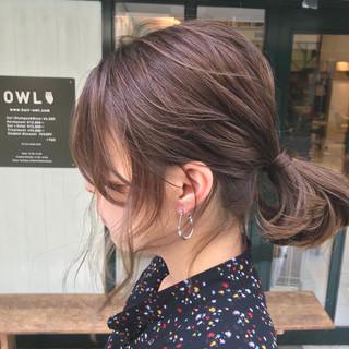 ハイライト バレイヤージュ ショート 外国人風カラー ヘアスタイルや髪型の写真・画像