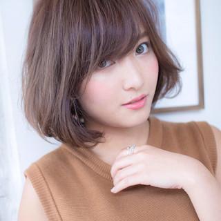 色気 ボブ かわいい コンサバ ヘアスタイルや髪型の写真・画像