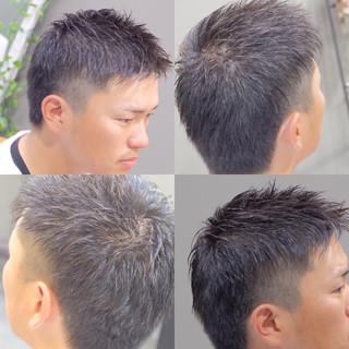 メンズ ボーイッシュ 坊主 ショート ヘアスタイルや髪型の写真・画像 ヘアスタイルや髪型の写真・画像