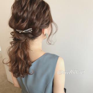 結婚式 ショート ミディアム 謝恩会 ヘアスタイルや髪型の写真・画像 ヘアスタイルや髪型の写真・画像