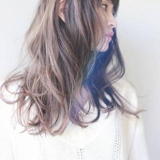 透明感 大人女子 ゆるふわ ナチュラル ヘアスタイルや髪型の写真・画像