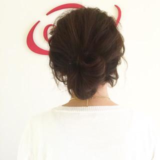 波ウェーブ 編み込み ショート 大人かわいい ヘアスタイルや髪型の写真・画像