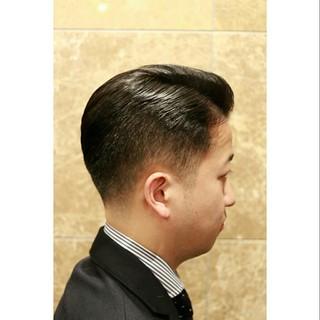 上品 ショート エレガント メンズ ヘアスタイルや髪型の写真・画像