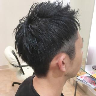 ベリーショート ナチュラル ツーブロック ショート ヘアスタイルや髪型の写真・画像