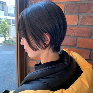 ショートボブ ストリート ショートヘア ショート ヘアスタイルや髪型の写真・画像