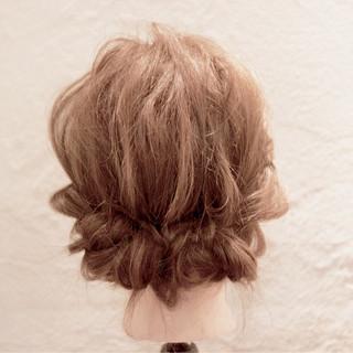 大人かわいい ミディアム フェミニン ショート ヘアスタイルや髪型の写真・画像