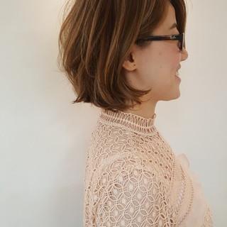 アンニュイ ボブ エレガント 上品 ヘアスタイルや髪型の写真・画像 ヘアスタイルや髪型の写真・画像