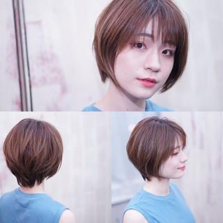 ショート ショートボブ 大人女子 大人かわいい ヘアスタイルや髪型の写真・画像