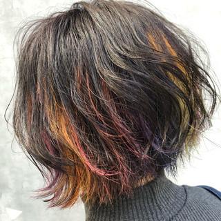 大垣峰志さんのヘアスナップ