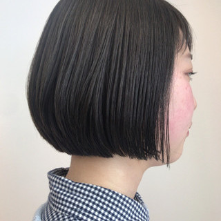ナチュラル 大人女子 モード ショート ヘアスタイルや髪型の写真・画像