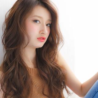 ゆるふわ ふわふわ 大人かわいい ロング ヘアスタイルや髪型の写真・画像