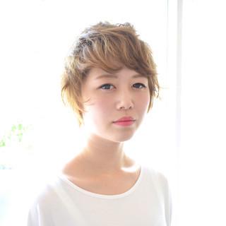 夏 涼しげ 外国人風 パーマ ヘアスタイルや髪型の写真・画像