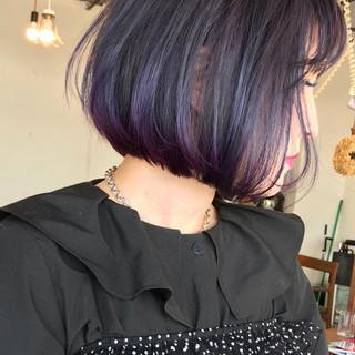 外国人風 ラベンダー ストリート 外国人風カラー ヘアスタイルや髪型の写真・画像 ヘアスタイルや髪型の写真・画像