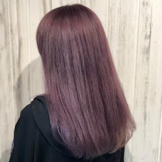 ビビッドカラー ブリーチ ダブルカラー ロング ヘアスタイルや髪型の写真・画像