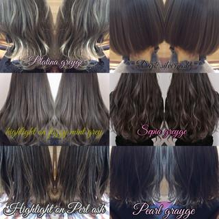 ストリート 地毛ハイライト ロング 大人ハイライト ヘアスタイルや髪型の写真・画像 ヘアスタイルや髪型の写真・画像