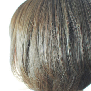 カーキ グレー ベージュ ナチュラル ヘアスタイルや髪型の写真・画像 ヘアスタイルや髪型の写真・画像