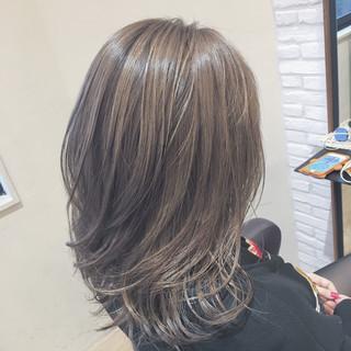ハイライト 大人かわいい 外国人風 エレガント ヘアスタイルや髪型の写真・画像