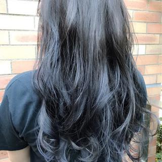 グラデーションカラー ブルージュ アンニュイ フェミニン ヘアスタイルや髪型の写真・画像