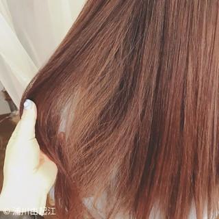 外国人風 ゆるふわ モテ髪 セミロング ヘアスタイルや髪型の写真・画像