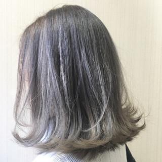 外国人風カラー 渋谷系 グレージュ かわいい ヘアスタイルや髪型の写真・画像