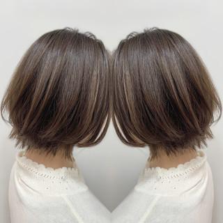 ナチュラル 大人女子 モテ髪 似合わせカット ヘアスタイルや髪型の写真・画像