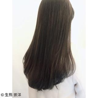 暗髪 大人かわいい ニュアンス 外国人風 ヘアスタイルや髪型の写真・画像